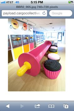 Cupcake chairs!!                                                                                                                                                                                 More