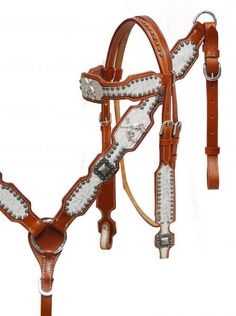 Showman Crossed Guns Headstall Set – Hay River Tack and Supplies