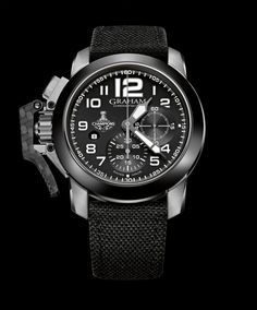 Chronofighter Oversize LA Kings watch by Graham London
