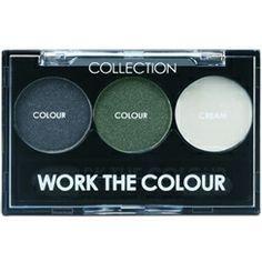 Collection 2000 WorkTheColour Trio Eyeshadow Thunder Storm 4