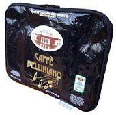 Italian Coffee Handbags and Lamps - STOCK : GENOVA COPERTINA - Caffe Belliniano Nero