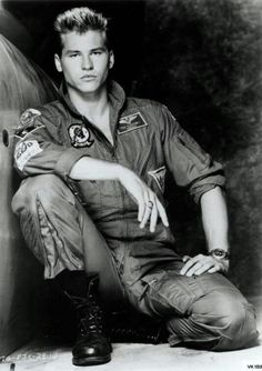 Val Kilmer as Iceman from Top Gun! Saw it for the first time this weekend...LOVED IT!!