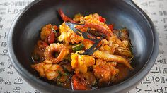 Whole squid with a twist | Korean recipes | SBS Food