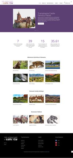 Web Design - Blog for travellers who are interested to visit Romania. Romania Facts, Stuff To Do, Things To Do, Visit Romania, Romania Travel, Picture Stand, About Us Page, Important Facts, Top Destinations