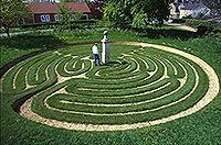 The labyrinth symbol transcends religion, time and cultures and is a universal 'tool' that can assist the individual to reconnect with their inner self, spirit or God.