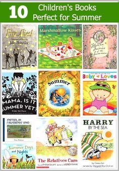 10 Children's Books Perfect for Summer