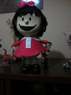 Mafalda en goma eva