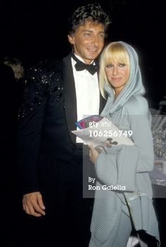barry manilow photos 1987 | Caption: Barry Manilow and Suzanne Somers during 2nd Annual American ...