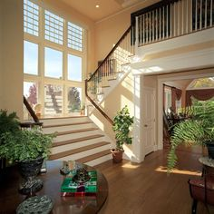 Grand Foyers | peter curto luxury home builders