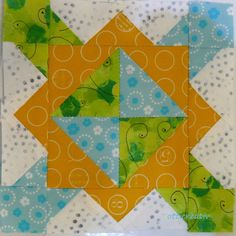 the splendid Sampler  Focal Point von Natalia Bonner  Block 6 / 100