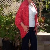 I am adding this Ridiculously Easy Fashion Shrug to my knitting to do list.  It comes in plus size, yeah.