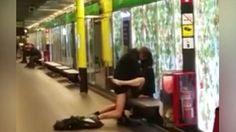 Denuncian pareja que practicó sexo en el metro de Barcelona