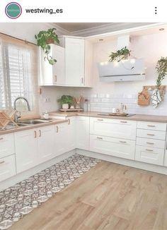 Kitchen Room Design, Modern Kitchen Design, Home Decor Kitchen, Kitchen Interior, Nice Kitchen, Home Decor Shops, Küchen Design, Design Ideas, Cool Kitchens