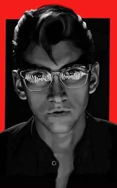 Alex Turner - Arctic Monkeys Art Print Arctic Monkeys Wallpaper, Monkey Wallpaper, Monkey Drawing, Monkey Art, Monkey Memes, Matt Helders, The Last Shadow Puppets, Alex Turner, Aesthetic Drawing