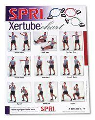 Spri xertube exercise guide
