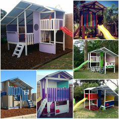 Every child loves to play in a cubby house #fort #cubbyhouse #playhouse #kids #play #family