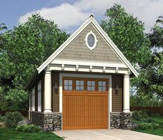 The Garage Plan Shop offers a collection of top selling garage plans by North America's top selling garage designers. View our selection of garage designs and builder-ready garage blue prints today! Garage Workshop Plans, Garage Floor Plans, Garage Shop Plans, Garage House, Car Garage, Garage Office, Garage Doors, Garage Studio, Loft Studio