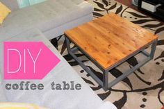 Home Coming: DIY Coffee Table