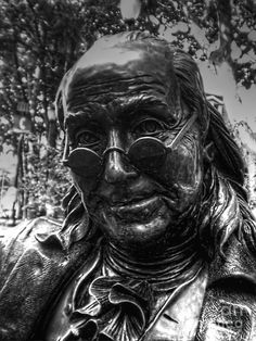 Benjamin Franklin Memorial by Tommy Anderson Best Vacation Destinations, American Revolutionary War, Colonial America, Brotherly Love, Jersey Girl, Benjamin Franklin, Philadelphia Pa, My Town, Revolutionaries