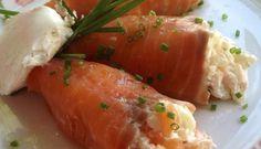 Conos de salmón rellenos #recetasROYAL