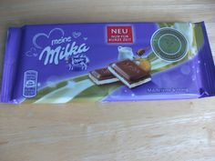 Milka Milk Cream and Honey bar #chocolate #milka