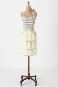 """An adorable apron with a cute name to boot-the """"HMS Lollipop Apron"""""""