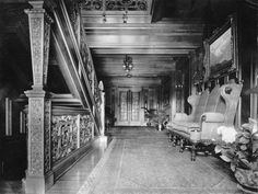 Main hall in 1910