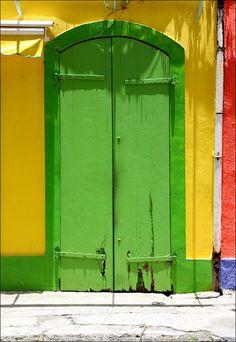 #doors #green