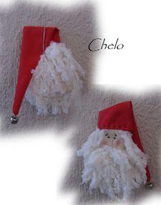 El rincón de Chelo: Tutorial-Adornos de Navidad para el árbol