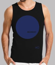 #Blue #Monday #fitted #men #tanktop #80s #bluemonday #electronic #music #neworders #monday