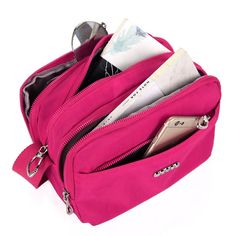 Women Nylon Waterproof Multi Layer Large Capacity Casual  Shoulder Bag Crossbody Bag  Worldwide delivery. Original best quality product for 70% of it's real price. Hurry up, buying it is extra profitable, because we have good production sources. 1 day products dispatch from warehouse. Fast...