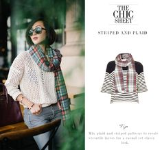 CHIC SHEET- Print on Print - The Chriselle Factor