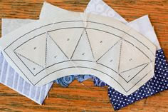 Good Paper piecing tutorial - New York Beauty Quilt Along by Jeni Baker, via Flickr