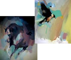 Bird and Horse Prints