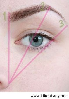 Rule to rely on for brows - LikeaLady.net