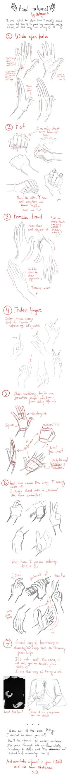 Hands tutorial: