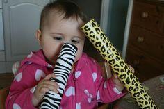 Baby-sized rain sticks.