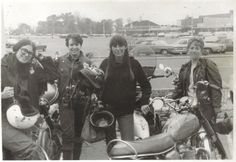 Always stoked on girl gangs... The NJ Cycle Sisters