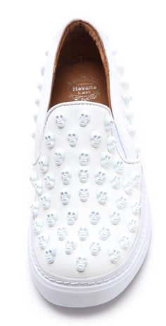 Jeffrey Campbell Alva Skull Stud Sneakers   SHOPBOP