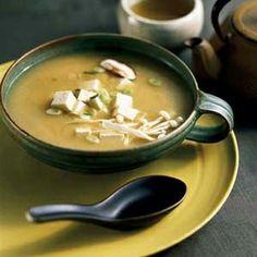 Soupe miso à la pomme de terre