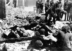 Jews captured during the Warsaw Ghetto Uprising                                                                                                                                                                                 More