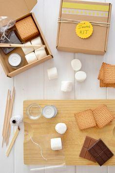 S'mores kit *cute party favor idea*