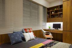 foorni.pl | Nowoczesny apartament na Tajwanie, miejsce do pracy