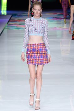 #Runway #JustCavalli #Collection #SS2014