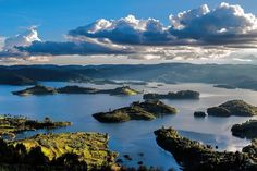 Photo: Uganda's Lake Bunyonyi - The most beautiful Lake you've never heard of. To book a trip to Bwindi Impenetrable Gorilla National Park and Lake Bunyonyi in Uganda, contact local tour operator - Pearl of Africa Tours & Travel on Tel: +256 (0)312 260559, E: info@pearlofafricatours.com, Web: www.pearlofafricatours.com