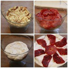 Dessert med blodappelsin #5ingredients #blood_orange #roemme #sour_cream #cream_cheese #kremost #kjeks #cookies