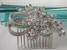 crystal bridal comb,wedding hair comb,bridal hair piece wedding comb,bridal headpiece,wedding hair piece,wedding hair accessories,bridal