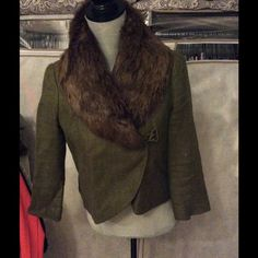 Vintage Style Winter Coat This adorable waist length coat is reminiscent of the 1920's!! Jackets & Coats