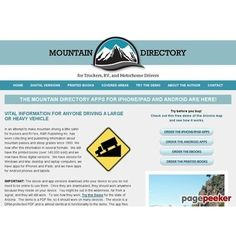 Mountain Driving Guide for Truckers RV and Motorhome Drivers  #BikeRiding #EatHealthyQuotes #Exercise #GetOutAndRun #Health #HealthyMeals #HealthyRecipes #LiveLonger #LoseWeight #LoseWeightInAWeek #WeightLoss http://ift.tt/2v7EmRH