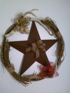 Western Christmas Wreath $45